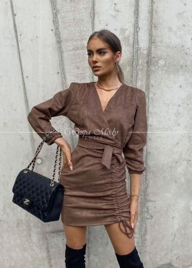 Sukienka Oregon brown