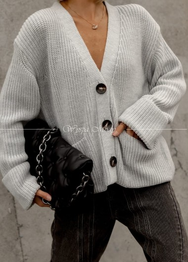 Sweter Aleksandria grey