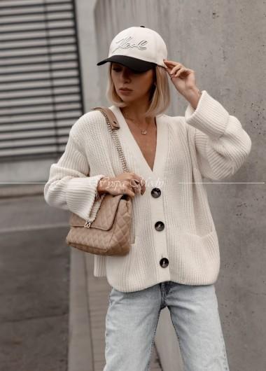 Sweter Aleksandria Ecru