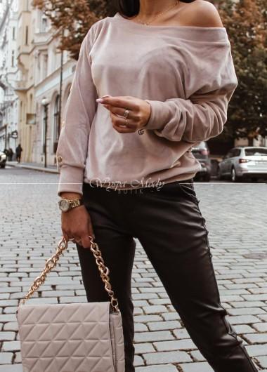 Sweter welurowy Topaz
